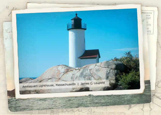 Photo of Annisquam Lighthouse, Massachusetts by James C. Leupold