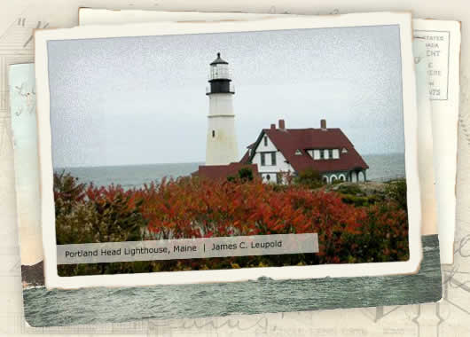 Photo of Portland Head Lighthouse, Maine by James C. Leupold