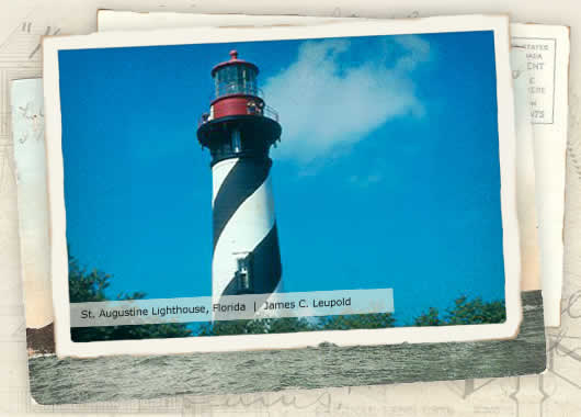Photo of St. Augustine Lighthouse, Florida by James C. Leupold
