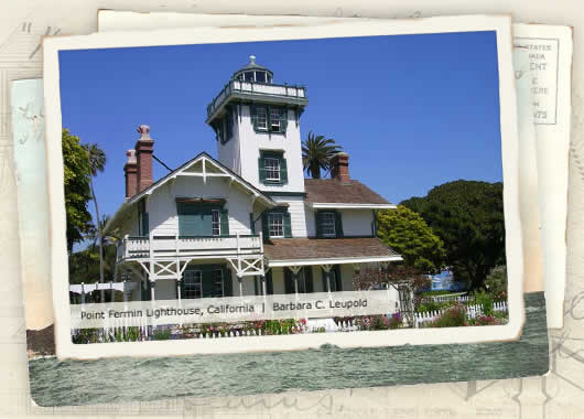Photo of Point Fermin Lighthouse, California by Barbara C. Leupold